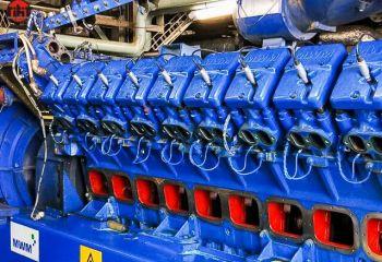 Сервисное обслуживание со средним ремонтом газопоршневой установки